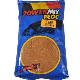 Прикормка Mondial-F Powermix Roach River Caramel 1 кг (Река карамель)
